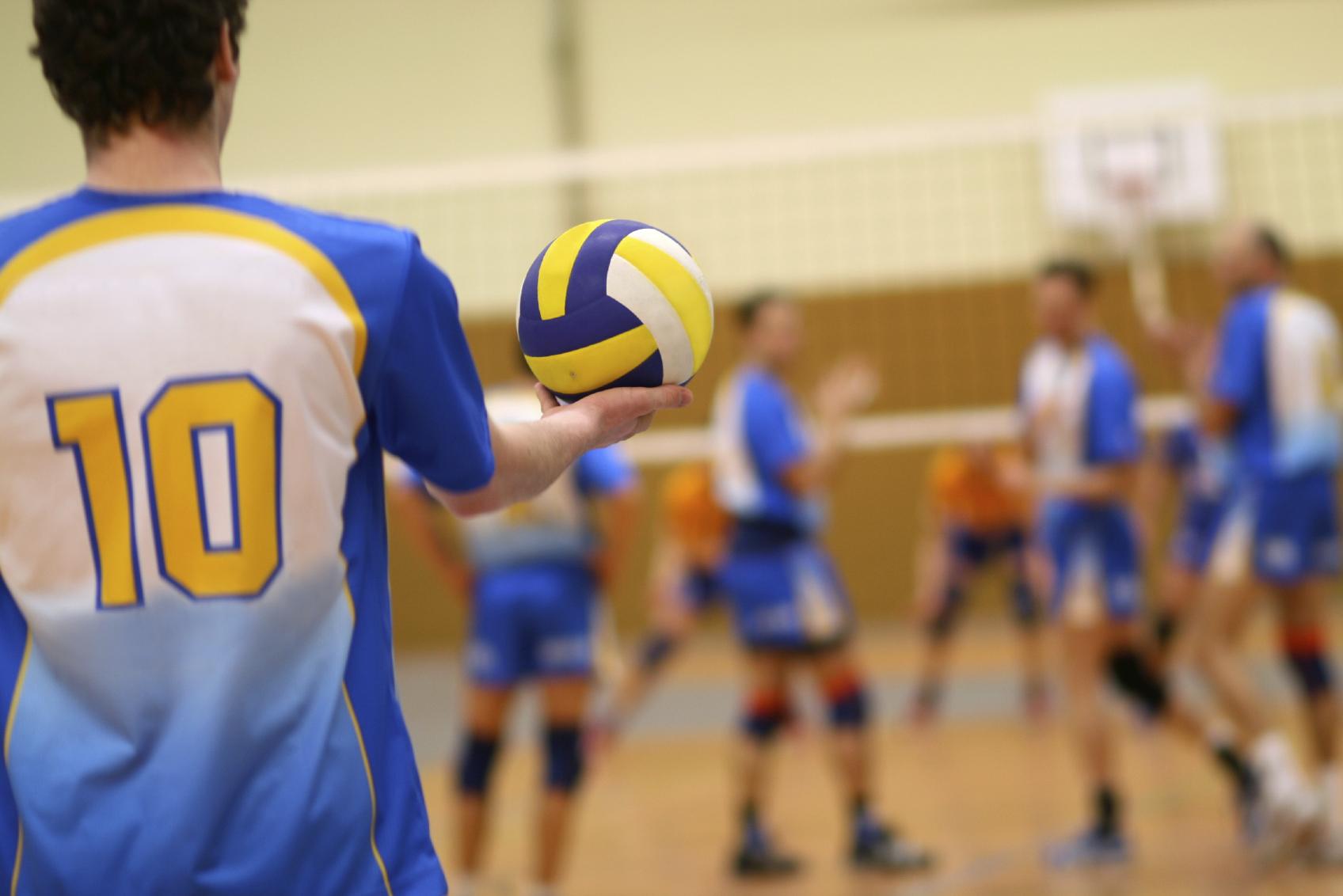 volleybal huren zaal