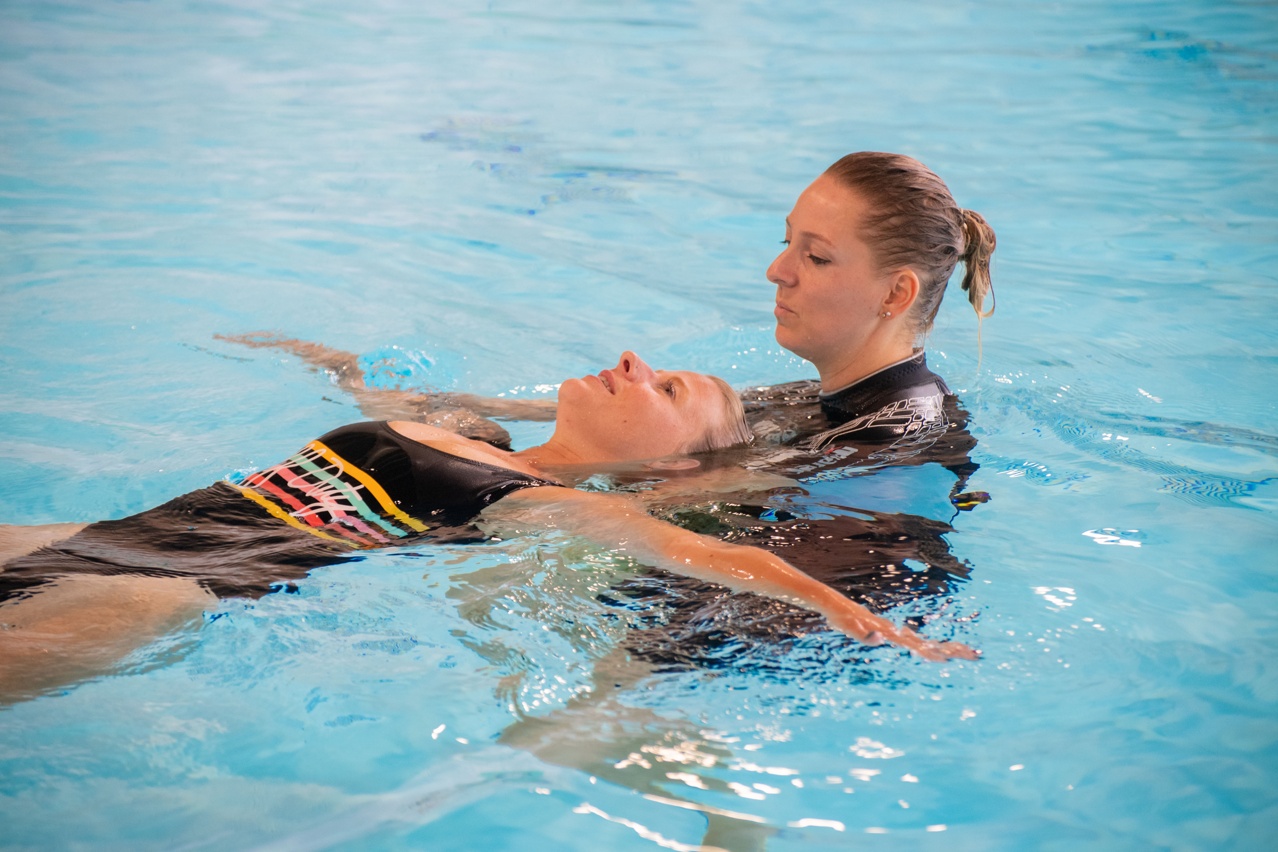 Afbeelding Zwemles Volwassenen