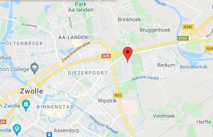 map Zwolle